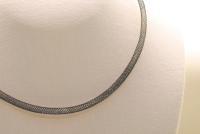 10 Stk. Nylon Netz Halsband in schwarz ca. 45cm