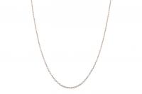Edelstahl Halskette ca. 51,5cm