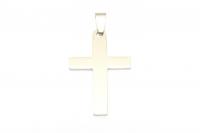 Mittelgroßer Kreuz Edelstahl Anhänger für Halsketten