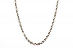 304 Edelstahl Seilkette Halskette