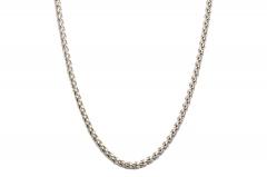 304 Edelstahl Weizen Halskette