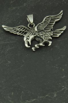 Adler Edelstahlschmuck für Halsketten