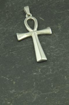 Ägyptisches Ankh Kreuz, Kettenanhänger aus Edelstahl