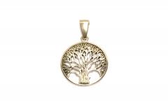 Baum des Lebens, Lebensbaum aus 304 Edelstahl