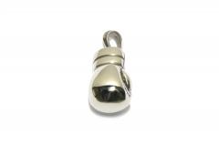 Boxhandschuh Halsketten Anhänger 3D aus Edelstahl