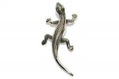 Gecko Halsketten Anhänger aus Edelstahl