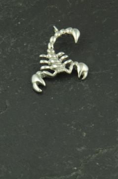 Kleiner Skorpion Anhänger aus Edelstahl