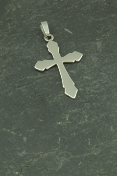Kreuz Edelstahl Schmuck Anhänger für Halsketten