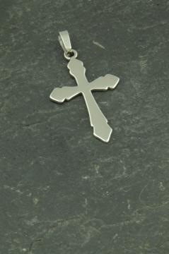 Kreuz Halsketten Anhänger aus Edelstahl