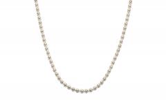 Kugelkette, Halskette mit Netzgitter