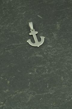 Mini Anker Anhänger Edelstahl Schmuck für Halsketten