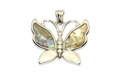 Schmetterling Halsketten Schmuck aus Edelstahl