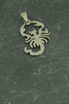 Skorpion Edelstahl Schmuck Anhänger für Halsketten