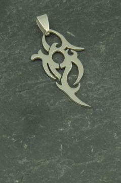 Trival Edelstahl Schmuck Anhänger für Halsketten