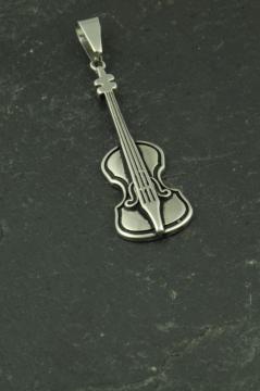 Violine, Cello Anhänger aus Edelstahl